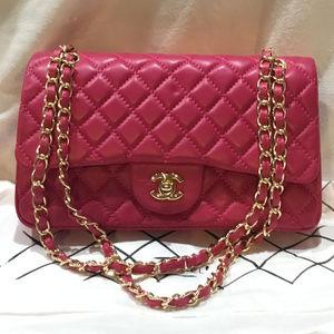 Handbags - Genuine leather Classic Double Flap Meduim Bag NEW